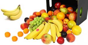 Fruit Op Kantoor : Fruit doos van de lunch op kantoor stockfoto s freeimages